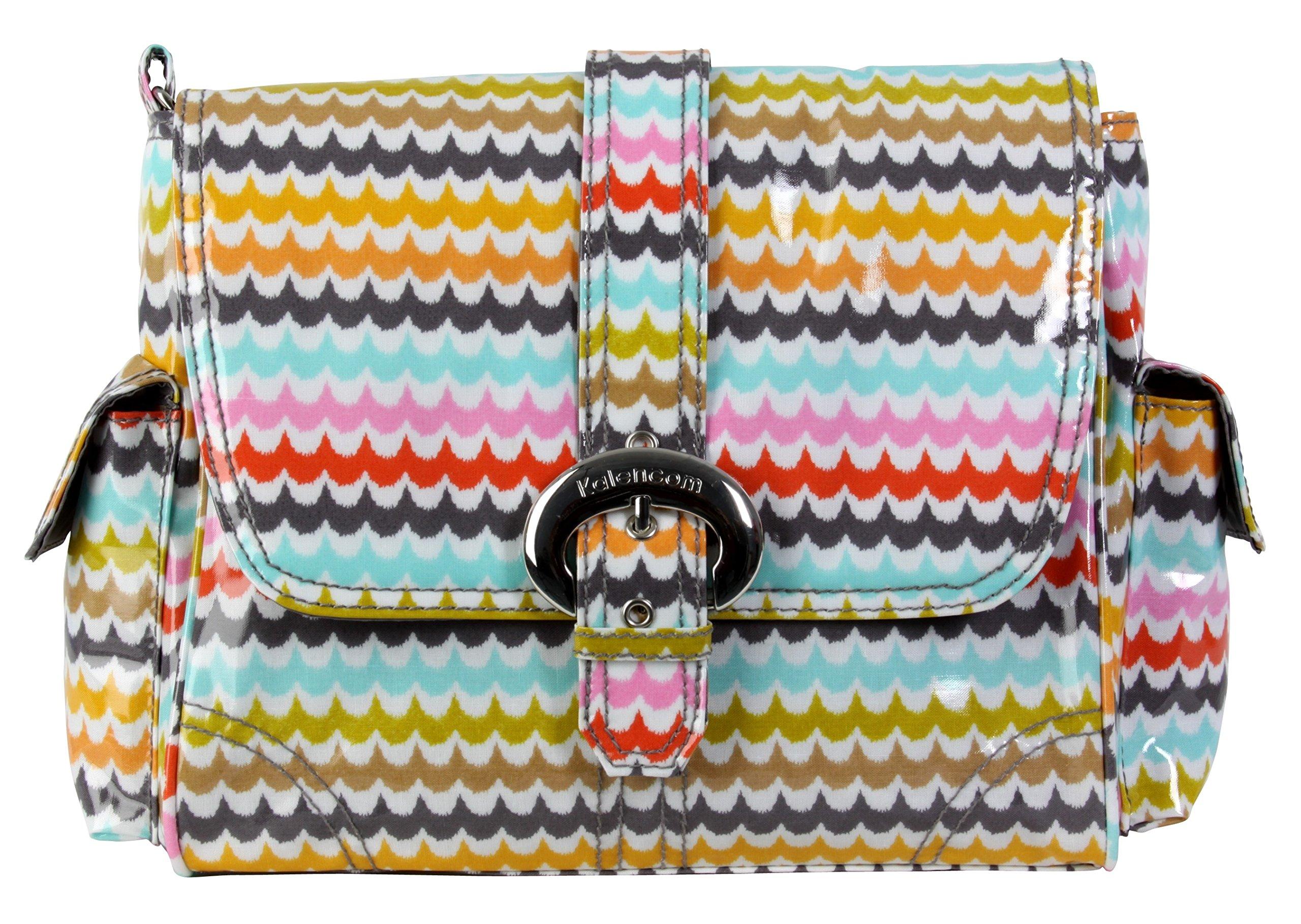 Kalencom Midi Coated Diaper Buckle Bag, Spa by Kalencom (Image #1)