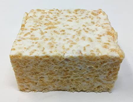 Amazon.com : Gourmet Marshmallow Crispy Rice Treats - 4 Cakes (Plain, Cocoa, Pretzel, SMores) : Grocery & Gourmet Food