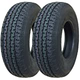 2 New Premium Grand Ride Trailer Tires ST 185/80R13 8PR Load Range D -