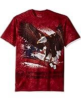 The Mountain Men's Dogtags Eagle T-Shirt