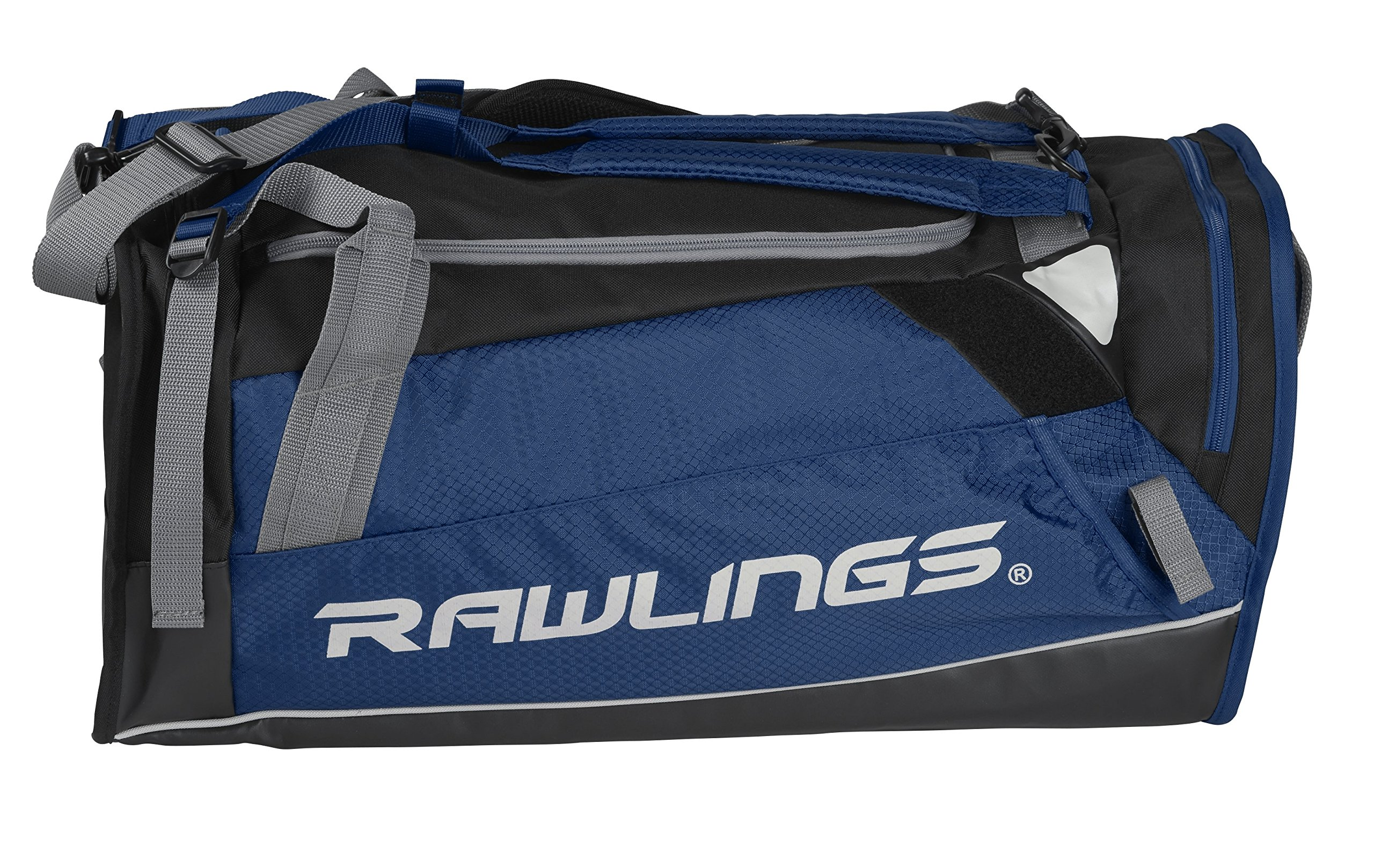 RAWLINGS Hybrid Duffel/Backpack Baseball/Softball Bag, Navy by RAWLINGS
