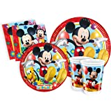 Ciao Y2496 - Set de Fiesta para mesa, de Disney Mickey Mouse Club House Para