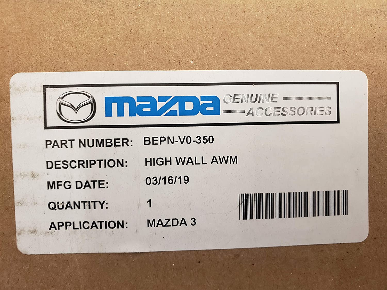 2019 MAZDA3 All Weather Floor MATS HIGH Wall