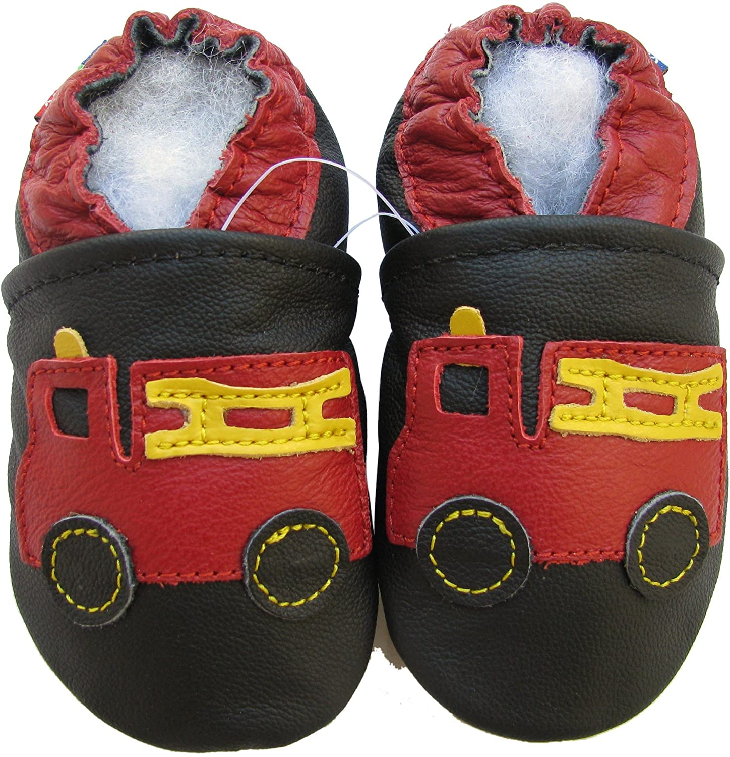 Carozoo 28 Designs Baby Boy Shoes Up to 5-6 Years Soft Sole Leather Kids Shoes