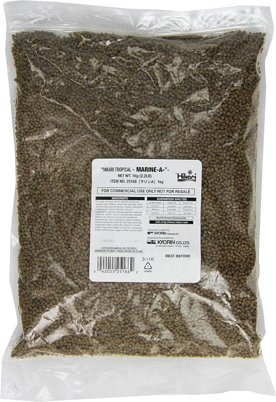 Hikari Usa Inc AHK25166 Marine A pellets 2.2-Pound