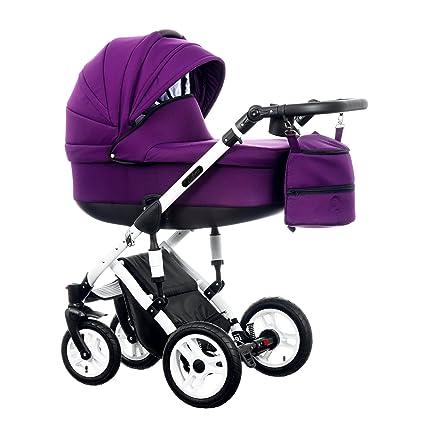 Carrito de bebé con ruedas neumáticas Euforia 2018 2 en 1 ...