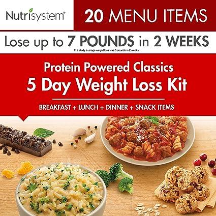 perdida de peso en 5 dias