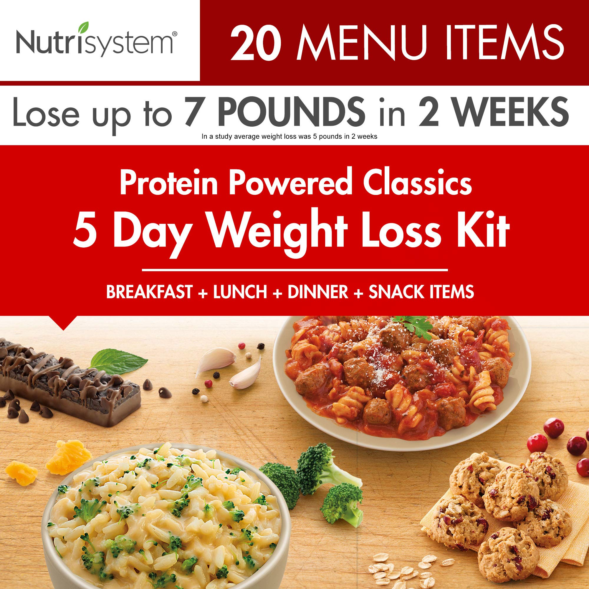 Nutrisystem 5 Day Weight Loss Kit, Protein Powered by Nutrisystem