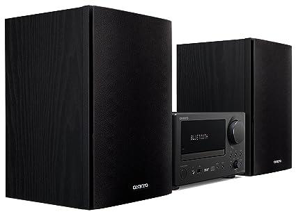 Onkyo CS-375D-BB - Sistema Receptor de CD, Color Negro