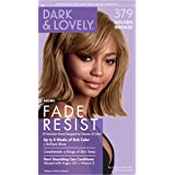 Permanent Hair Color by Dark and Lovely Fade Resist I Up to 100% Gray Coverage Hair Dye I Golden Bronze 379 I SoftSheen…