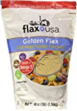 Flax USA Golden Flax Cold Milled Golden Flax Seed 48Oz(3lb).