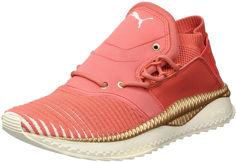 PUMA Women's Tsugi Shinsei Evoknit Wn Sneaker B072XZHRX4 10 M US Spiced Coral-whisper White Whisper White