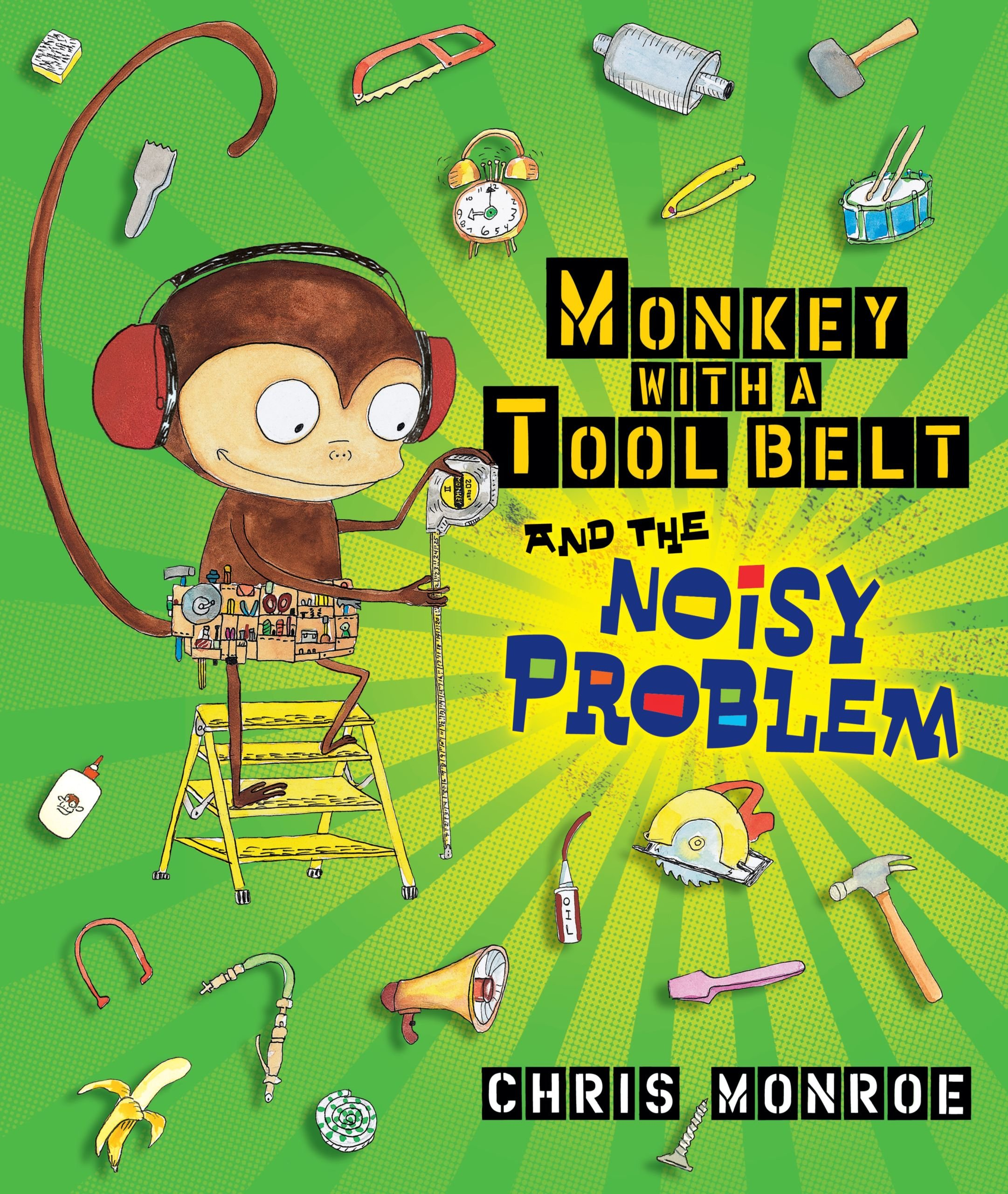 Monkey With a Tool Belt and the Noisy Problem by Carolrhoda Books (Image #1)