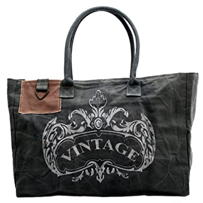 105b82e40809c Gall Zick Canvas Tragetasche Tasche Schultertasche Shopper Damentasche  Strandtasche Einkaufstasche Reisetasche Vintage (Rot) Billig Verkauf