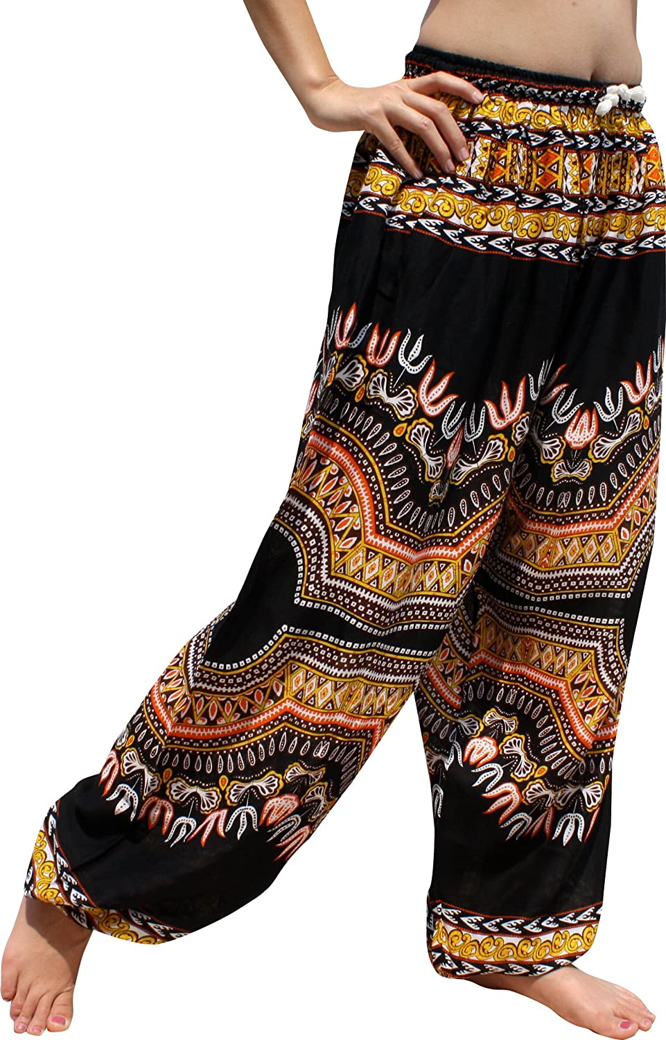 Full Funk PANTS メンズ B07DPMR1B4 Black Large|Dashiki PANTS Black Dashiki Funk Black Large, 【byTRICO【バイトリコ】デザイン:308c22a2 --- ijpba.info