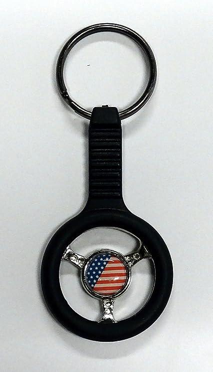 Llavero volante USA 95 x 40 mm: Amazon.es: Coche y moto