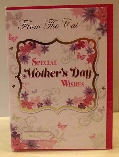 O de la madre Happy, de dibujo de gato con de la de gatos con