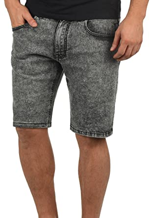 6c4fac533 Redefined Rebel Marcos Herren Jeans Shorts Kurze Denim Hose Mit Destroyed-Optik  Aus Stretch-