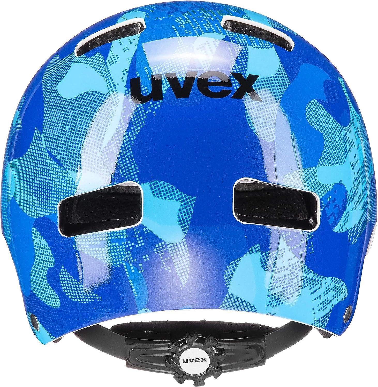 Uvex Kid 3 Casco de Bicicleta Ni/ños Azul 2019