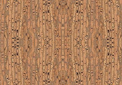 Piel vegana de corcho / Tela de corcho para hacer manualidades, monederos, etc. Alternativa vegana al cuero - 50 cm x 35 cm - Varios colores (Raizes)