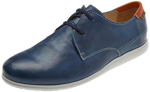 Pikolinos Faro M9f, Zapatos de Cordones Derby para Hombre, Azul (Nautic),