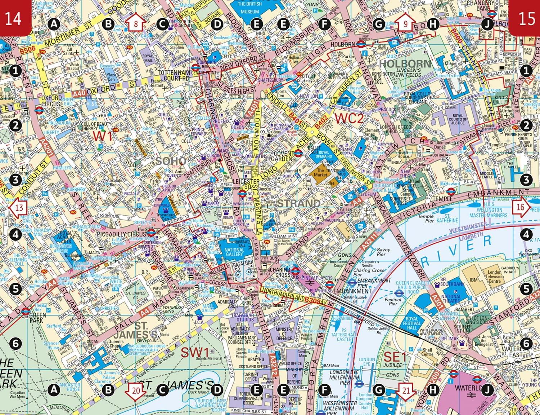 Tomtom Australia Map 915.London Pocket Atlas Amazon Co Uk Collins Maps 9780008104573 Books