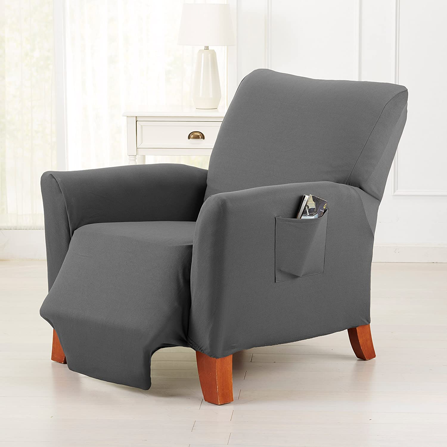 Groovy Dawson Collection Basic Strapless Slipcover Form Fit Slip Resistant Stylish Furniture Shield Protector Featuring Lightweight Twill Fabric By Dailytribune Chair Design For Home Dailytribuneorg