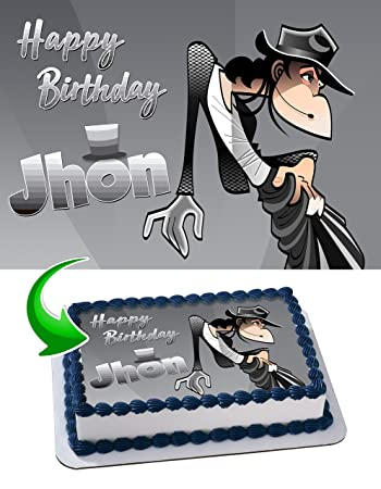 Image Unavailable Not Available For Color Michael Jackson Birthday Cake Personalized Toppers