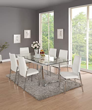 Amazon.com: Acme muebles 73150 Osias mesa de comedor de ...