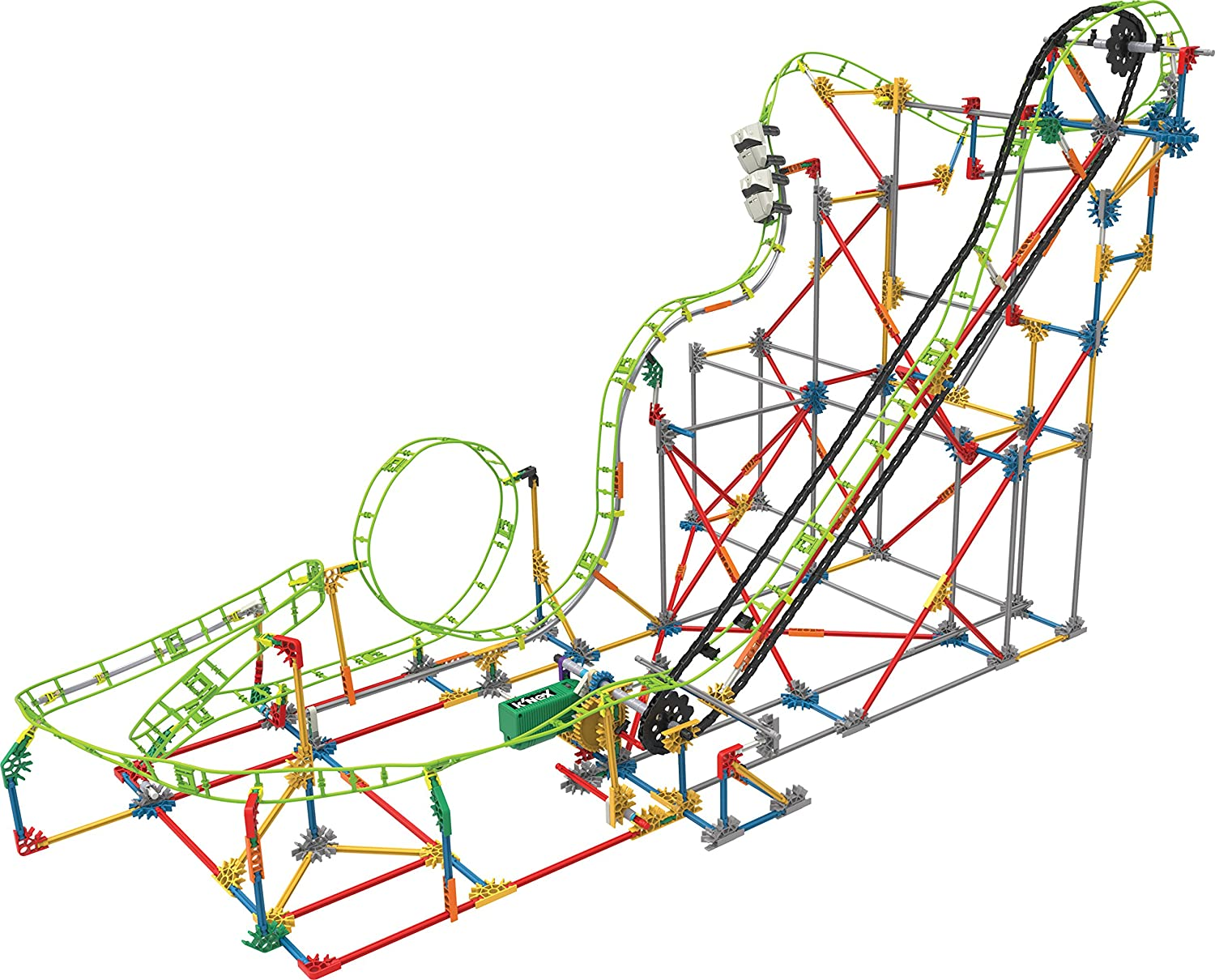 Buy Knex Thrill Rides Double Doom Roller Coaster Building Set Rollercoaster Diagram 891 Pieces Ages 9 Engineering Educational Toy Online At Low Prices In India Amazon
