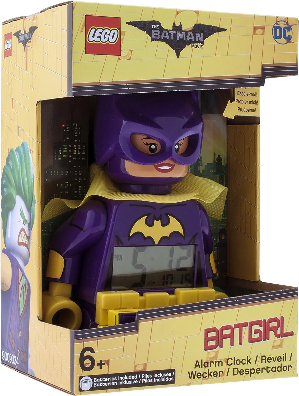 LEGO BATMAN MOVIE 9009334 Batgirl Kids minifigure alarme réveil clock lilaneuware