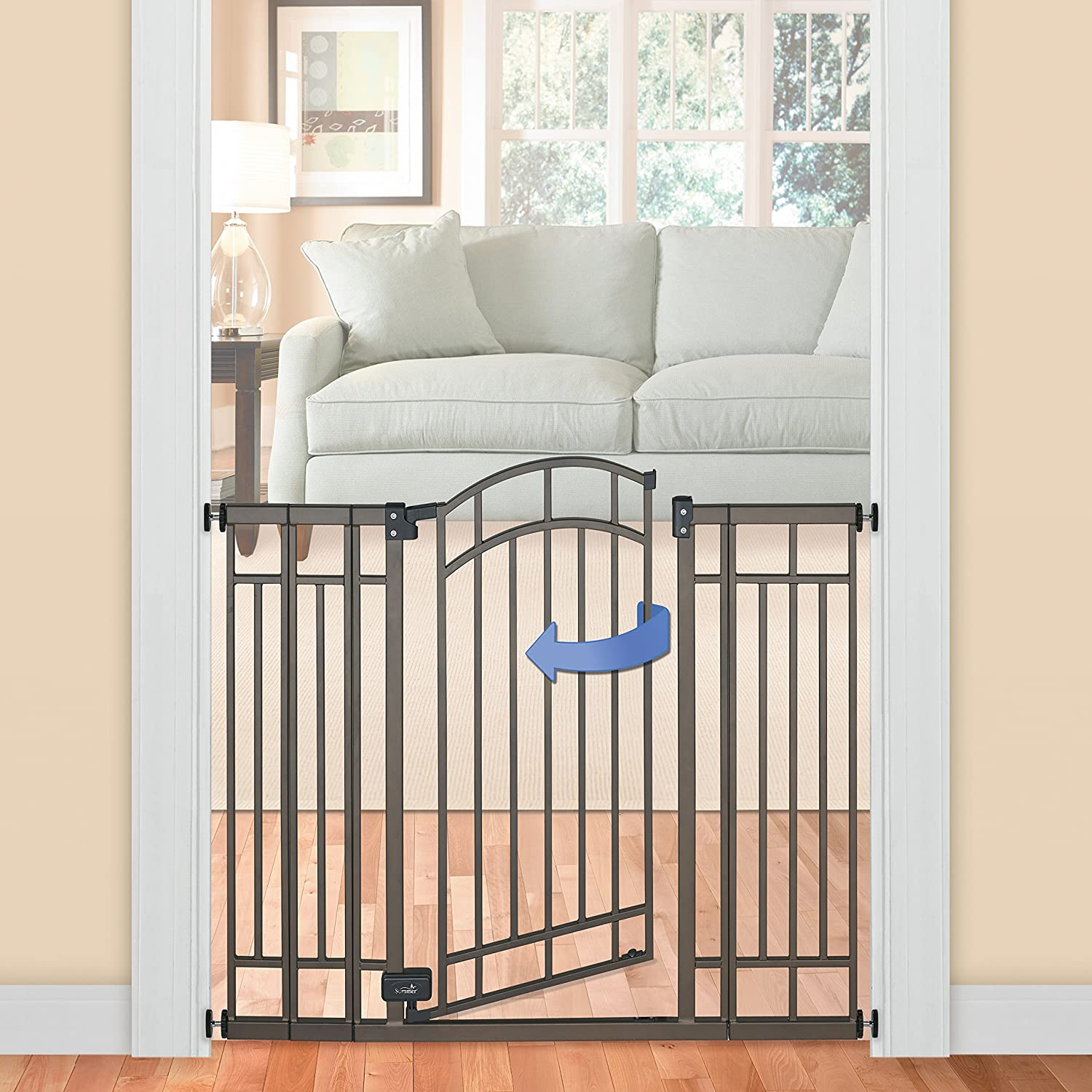 amazon com summer infant multi use deco extra tall walk thru
