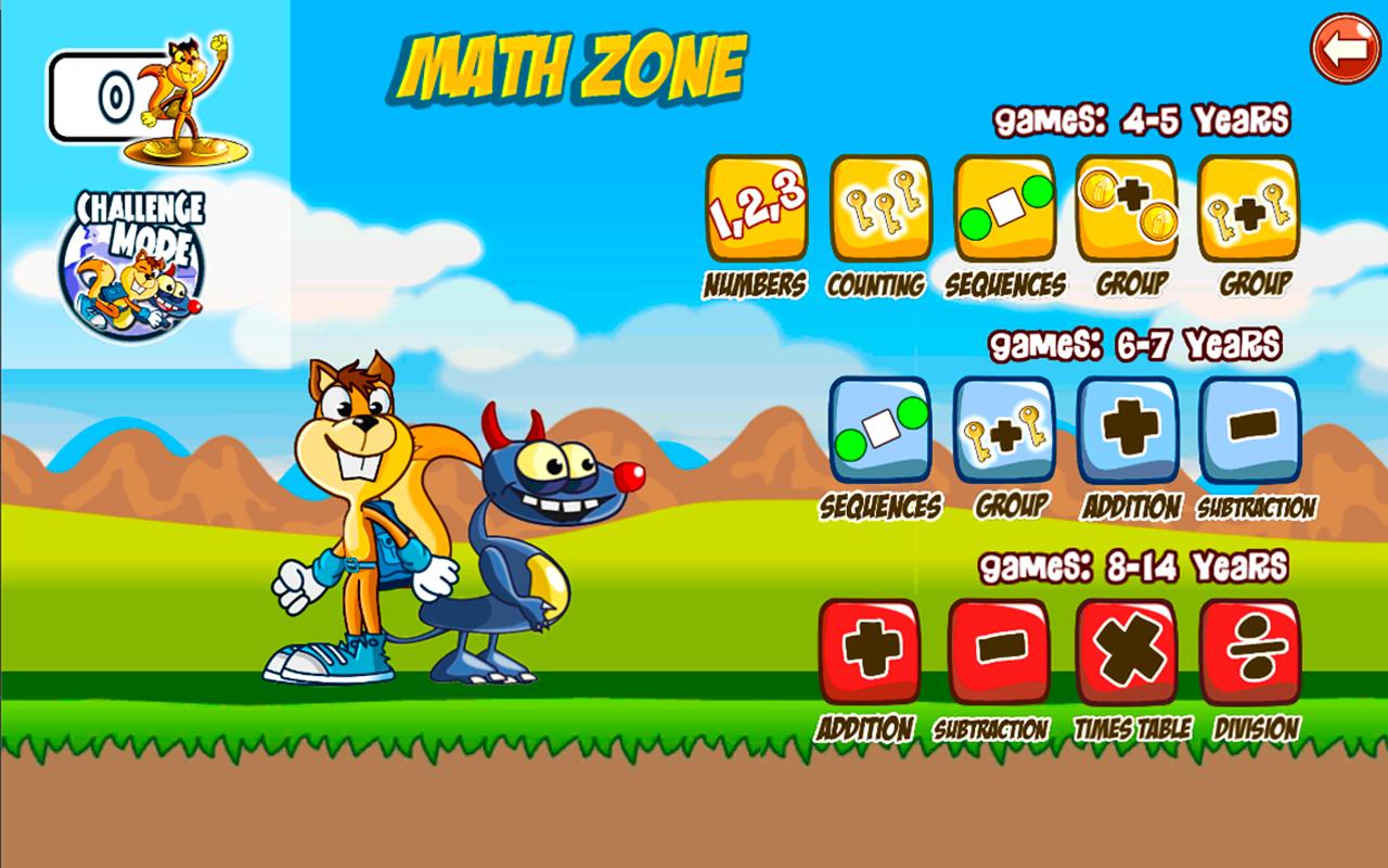 Monster Numbers: Juegos de matemáticas para niños de escuela ...