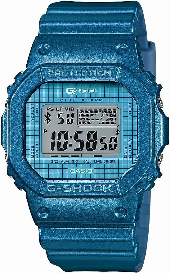 [カシオ] 腕時計 ジーショック Bluetooth ver4.0対応 GB-5600B-2JF ブルー