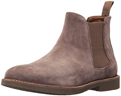 e0fddf7e78e7f Steve Madden Men's Highline Chelsea Boot, Taupe Suede, 7 US/US Size  Conversion