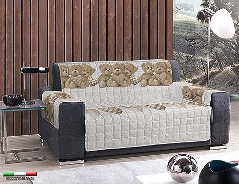Copridivano Shabby Chic : Centesimo web shop copridivano in 4 misure salva divano imbottito e
