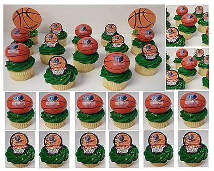 Amazon Com Memphis Grizzlies 14 Piece Nba Basketball