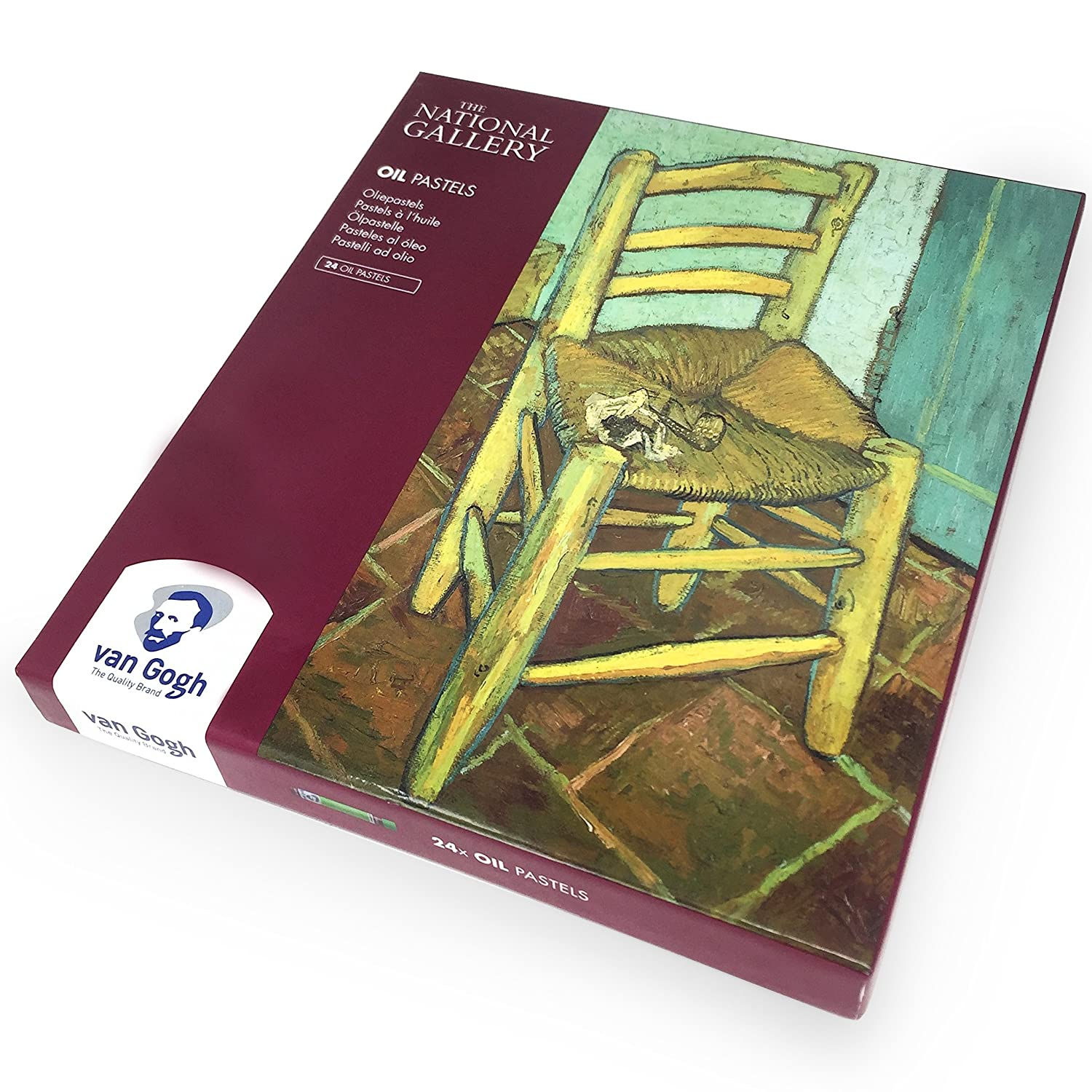 Royal Talens – Van Gogh – The National Gallery – Limited Edition – pastelli ad olio – Confezione da 24