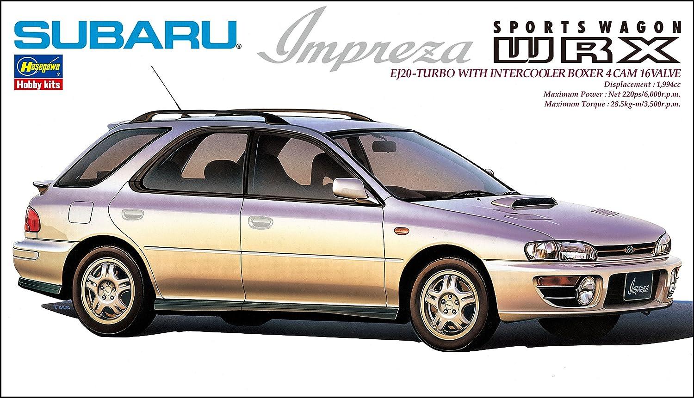 Hasegawa CD15 1/24 Subaru Impreza Sports WRX plástico Maqueta de, Modelo Ferrocarril Accesorios, Hobby, de construcción: Amazon.es: Juguetes y juegos