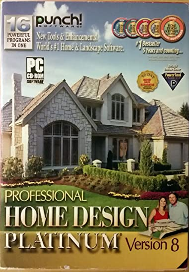 Punch Pro Home Design Platinum Version 8