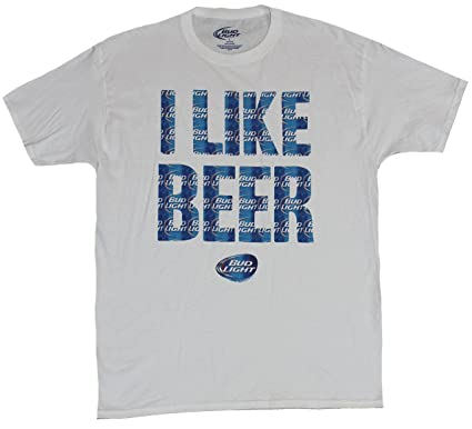 594e14d24010 Image Unavailable. Image not available for. Color: Bud Light Mens T-Shirt  ...