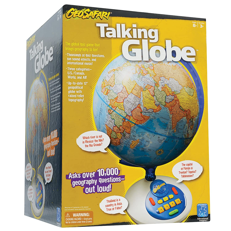 Educational Insights GeoSafari Talking Globe Amazon Toys