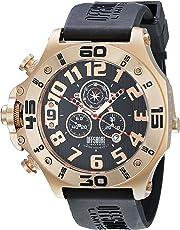 OffShore Limited OFF009J Reloj Analógico Unisex, Orado/Negro