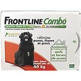 Frontline Combo chien 40/60 kg boite de 6 pipettes anti-puces et tiques