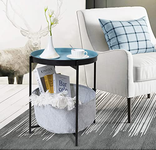 Hawoo 20''H Small Round End Table