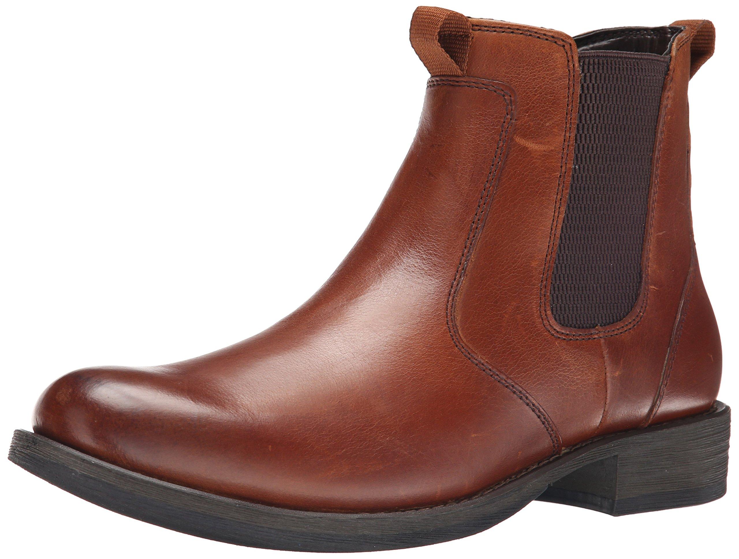 Eastland Men's Daily Double Chelsea Boot, Tan, 12 D US