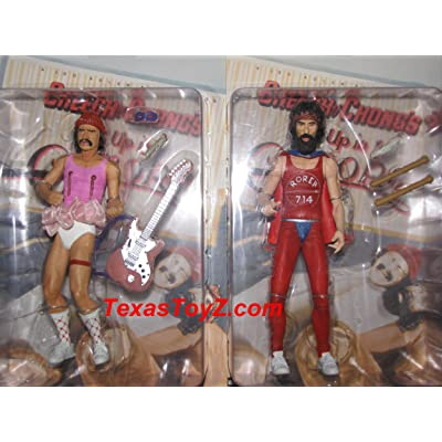 Cheech and Chong Up in Smoke Movie Action Figures by NECA: Toys & Games