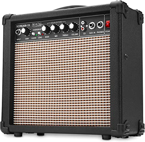 Rocktile Scream-15 - Amplificador para guitarra: Amazon.es ...