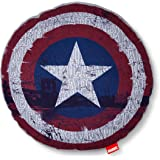 """Marvel Captain America Throw Pillow (14""""x14"""") Red & Blue"""
