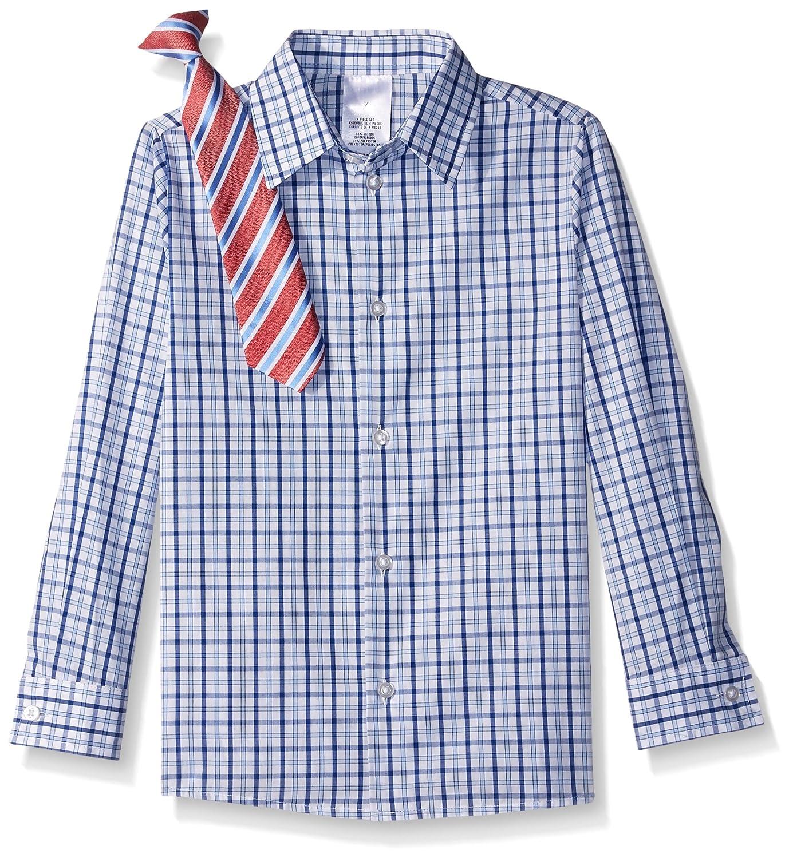 Tie and Pants Nautica Boys 4-Piece Suit Set with Dress Shirt Jacket